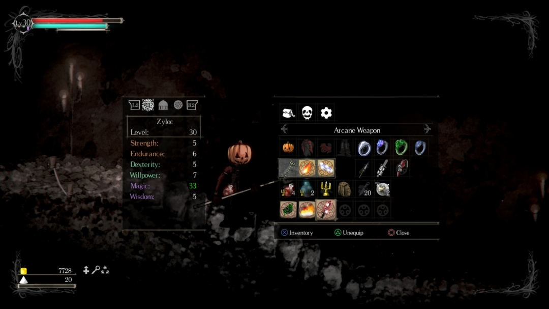 SnS Inventory